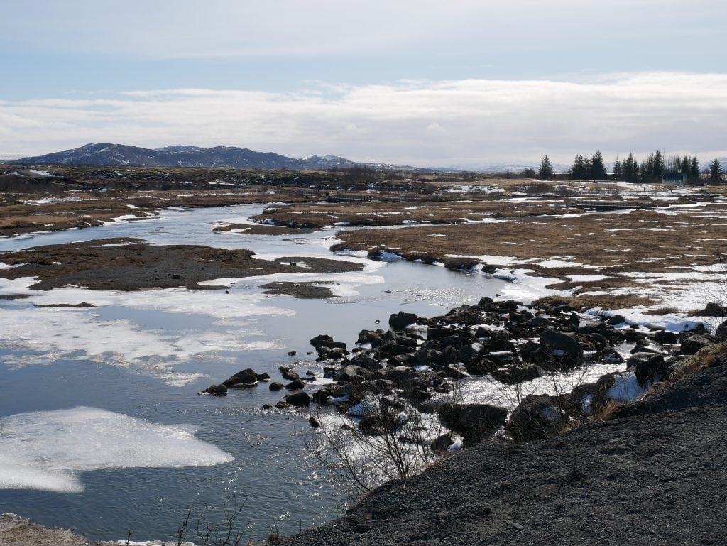 The stunning scenery at Thingvellir