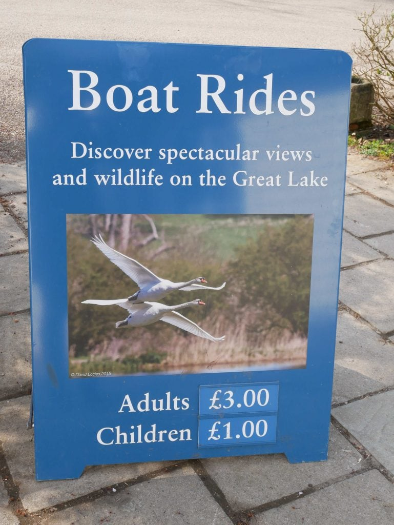 Boat trips from the boat house