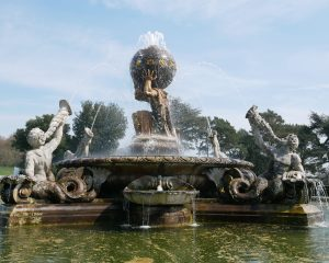 Atlas fountain at Castle Howard