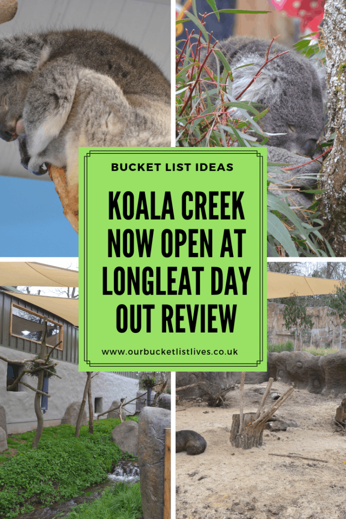 Koala Creek Now Open at Longleat Day Out Review