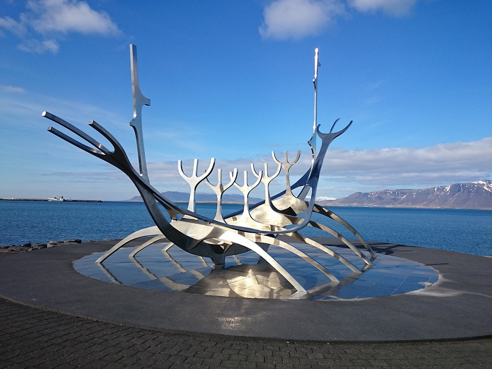Solfa Sun Voyager Sculpture - photo courtesy of Pixabay