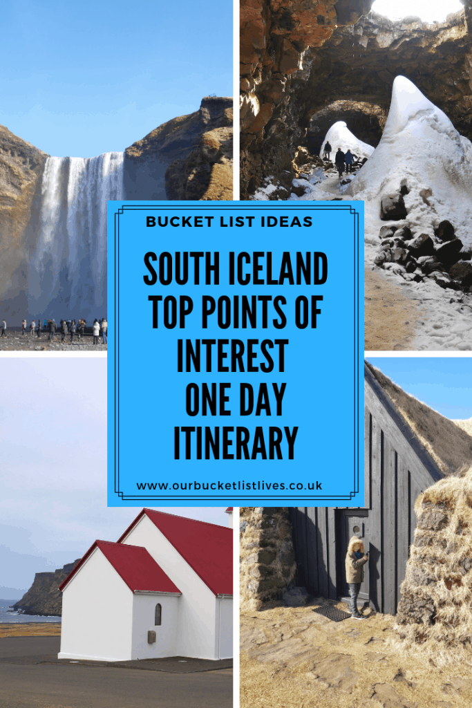 South Iceland Top Points of Interest | One Day Itinerary