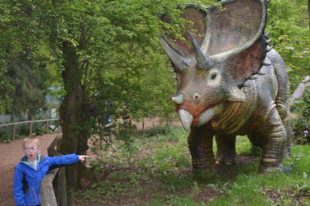 Dinosaur trail at Knebworth