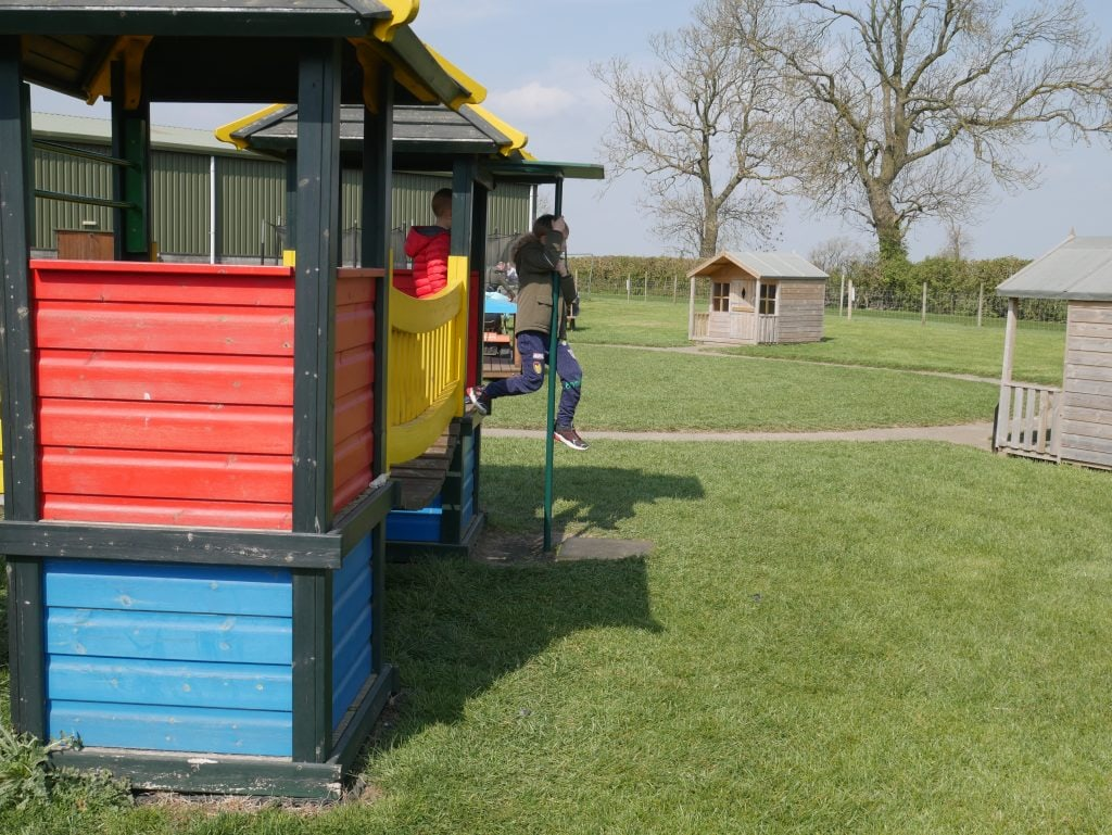 Part of the under 5's play area