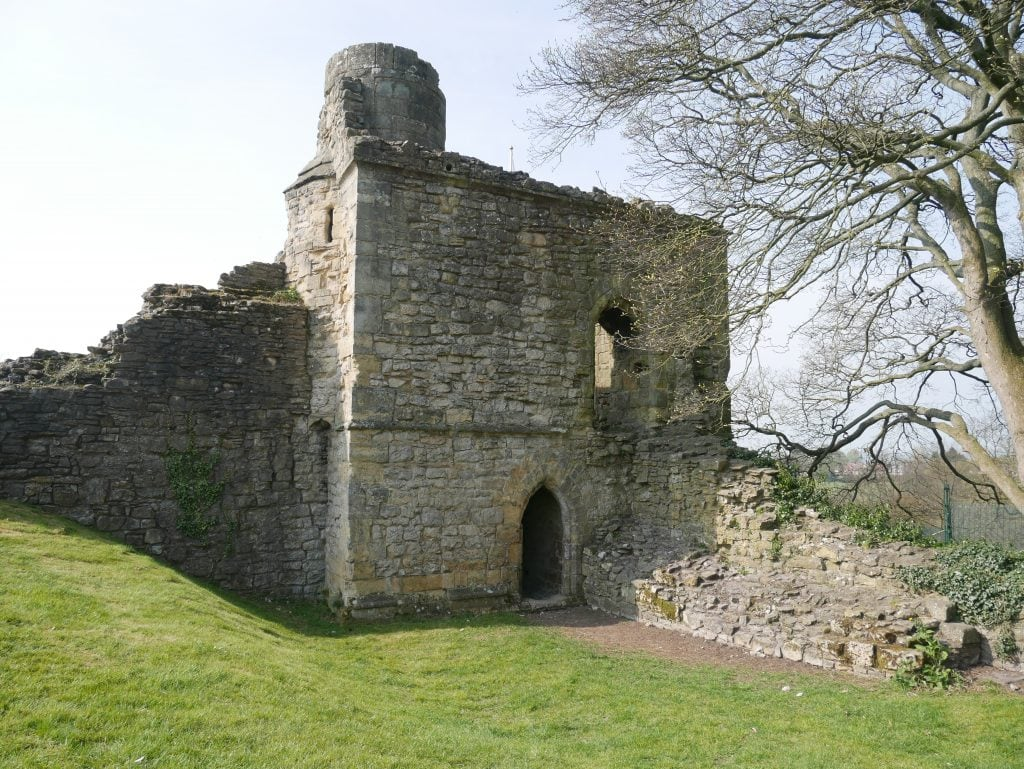 One of the Towers at Pickering castle