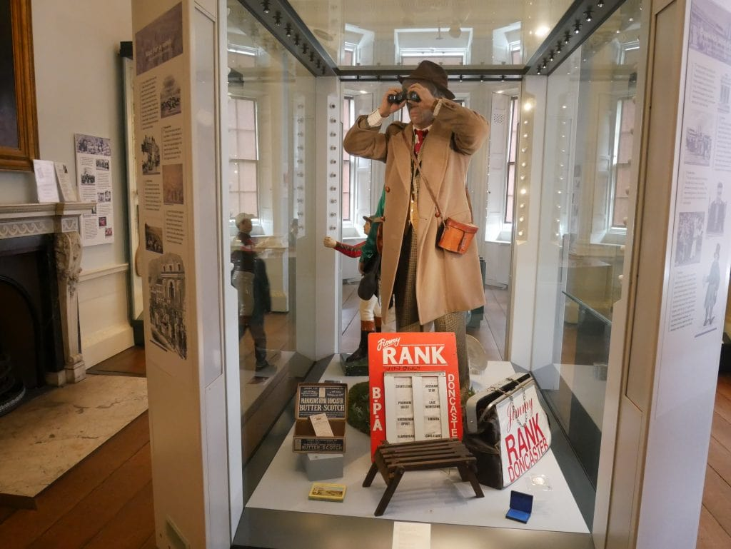 Some of the many displays at Cusworth Hall