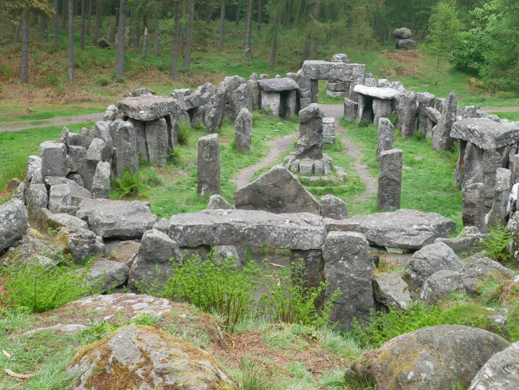Photos of the Druids Temple