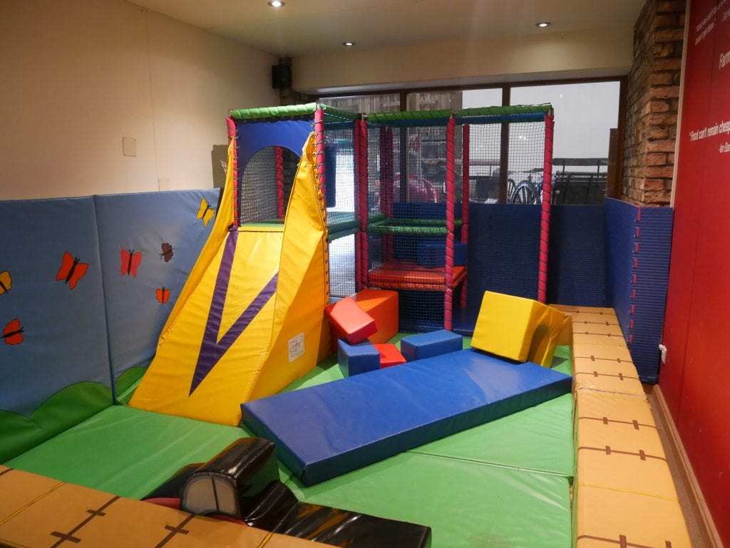 Small Soft Play area in the Museum
