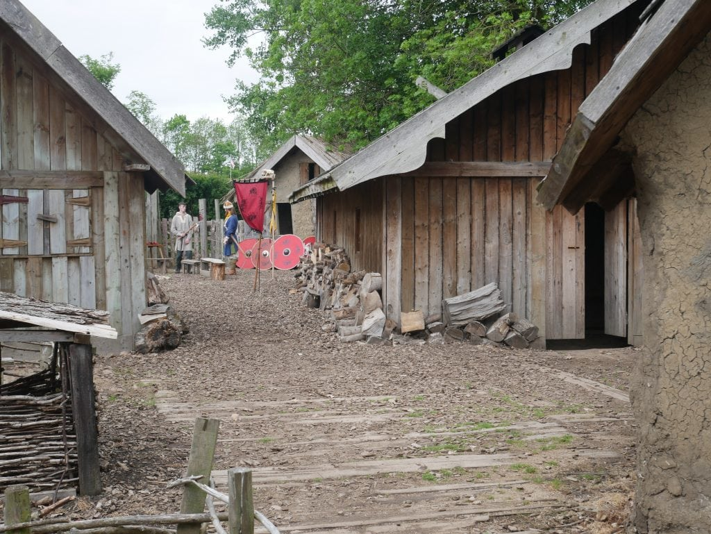 Viking Village at Yorkshire Museum of Farming