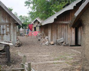 Viking Village at Yorkshire Museum of Farming