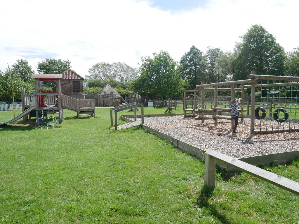 Photo of the playground at Yorkshire museum of farming