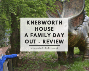 Knebworth House - A Family Day Out - Review