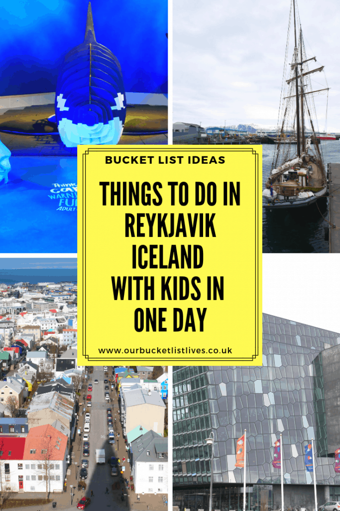 Things to do in Reykjavik Iceland with kids in one day