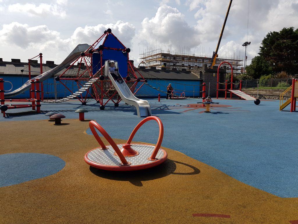 Playground near Arnold Palmer