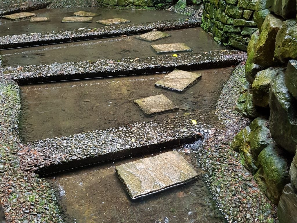 The innocent looking stepping stones