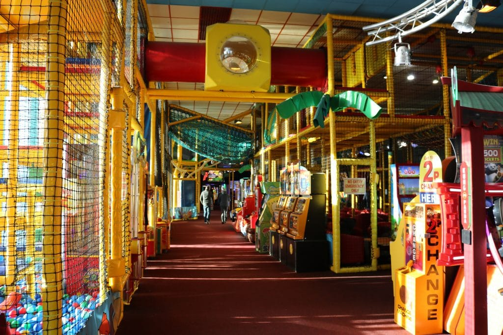Skegness Pier soft play