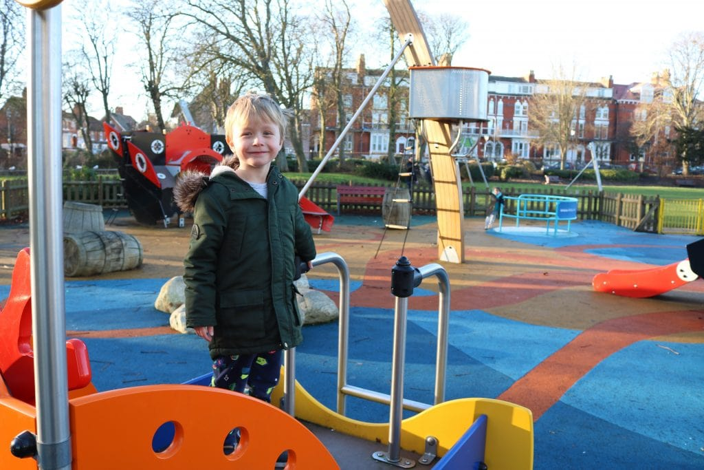 Tower Gardens Playground Skegness
