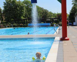 Jubilee Park Outdoor pool Woodhall Spa