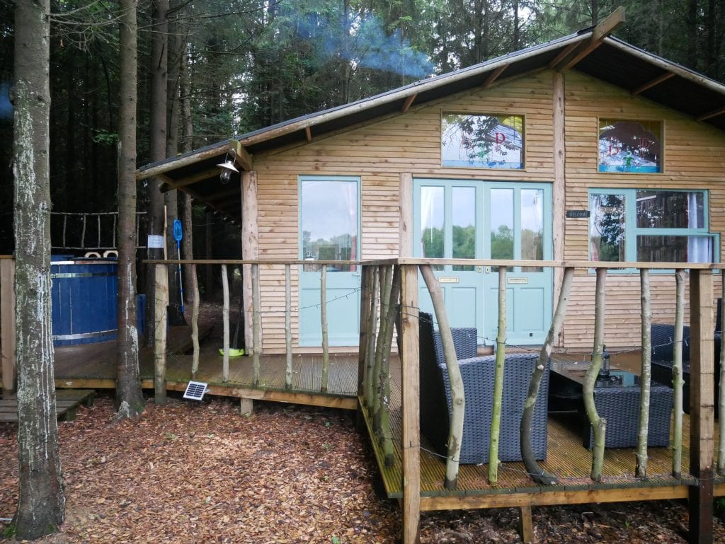 Camp Katur Glamping at Bears Place North Yorkshire Review - Hot Tub