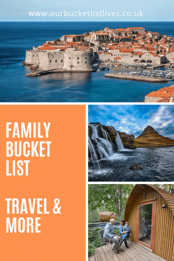400 Family Bucket List - Travel and More