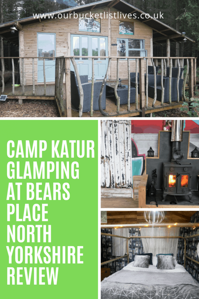 Camp Katur Glamping at Bears Place in North Yorkshire Review - Hot Tub