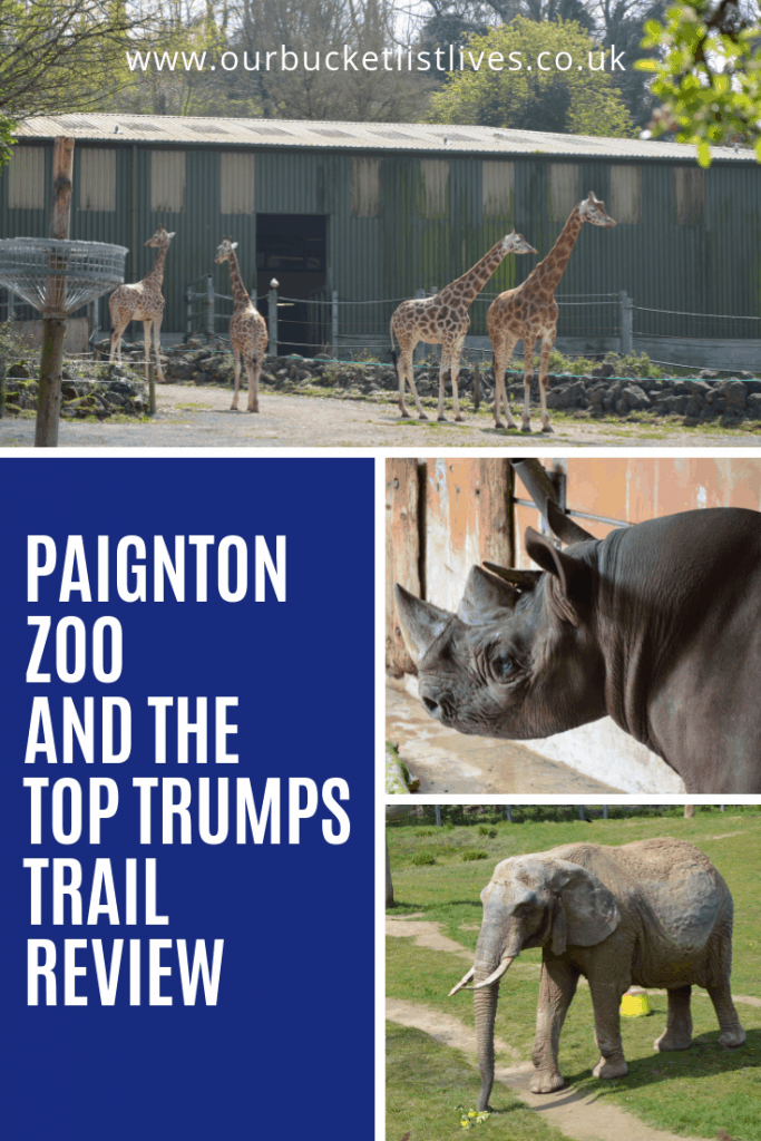 Paignton Zoo and the Top Trumps Trail Review