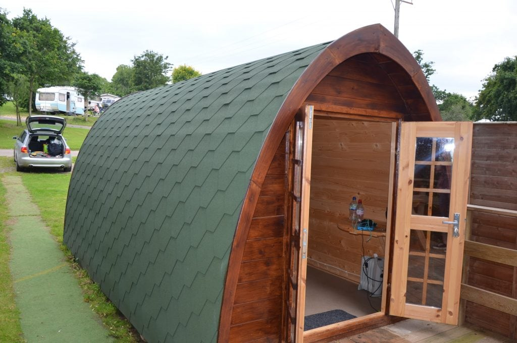 Review Glamping Pod Andrewshayes Caravan Park