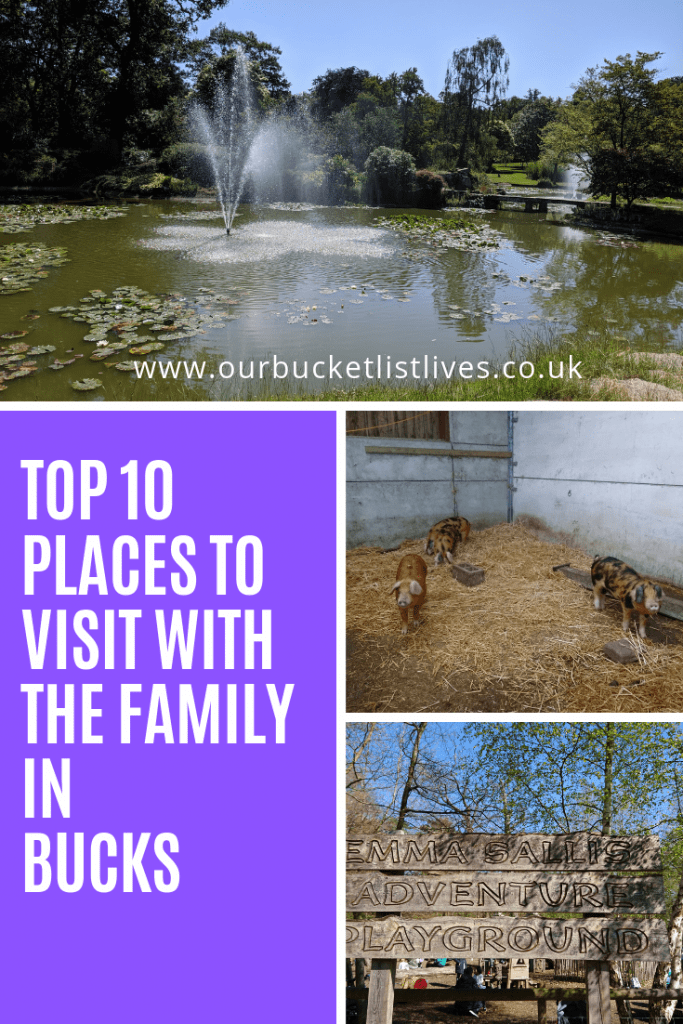 Top 10 Places to visit with the family in Buckinghamshire