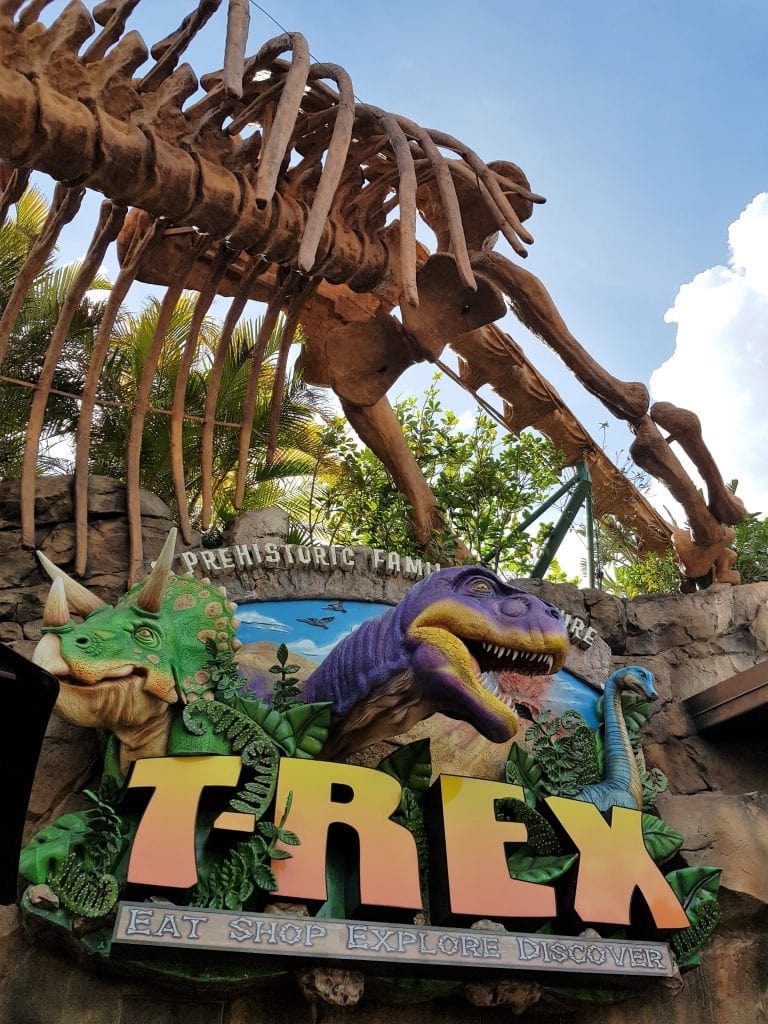 T-Tex at Disney Springs
