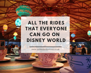 All the Rides that Everyone Can Go On | Walt Disney World