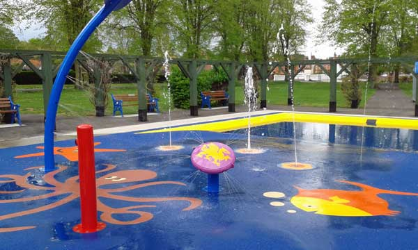 Grantham Wyndham Park Splash Park
