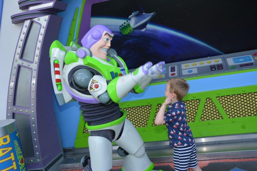 Buzz Lightyear Magic Kingdom