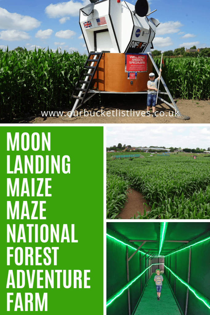 National Forest Adventure Farm | Moon Landing Maize Maze Review