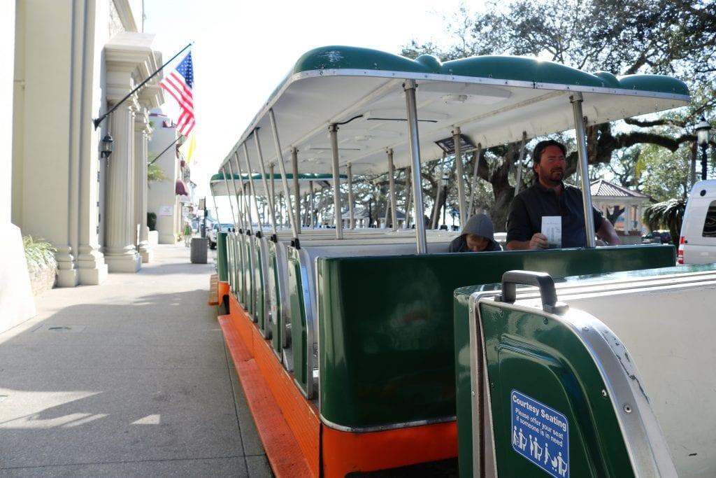 Trolleybus ride St Augustine