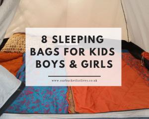 8 Sleeping Bags for Kids   Boys & Girls