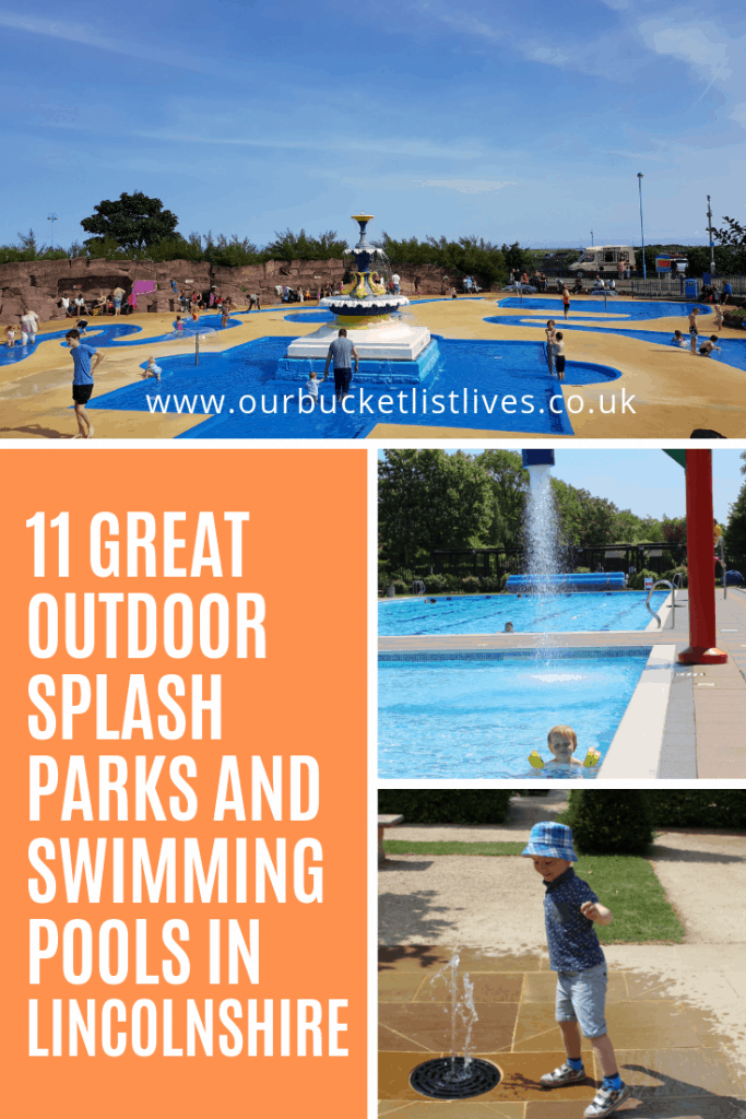 11 Great Outdoor Splash Parks and Swimming Pools in Lincolnshire