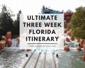 Three Week Florida Itinerary