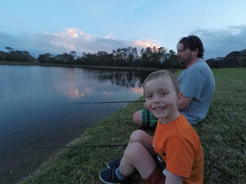 Fishing at Lake Berkley