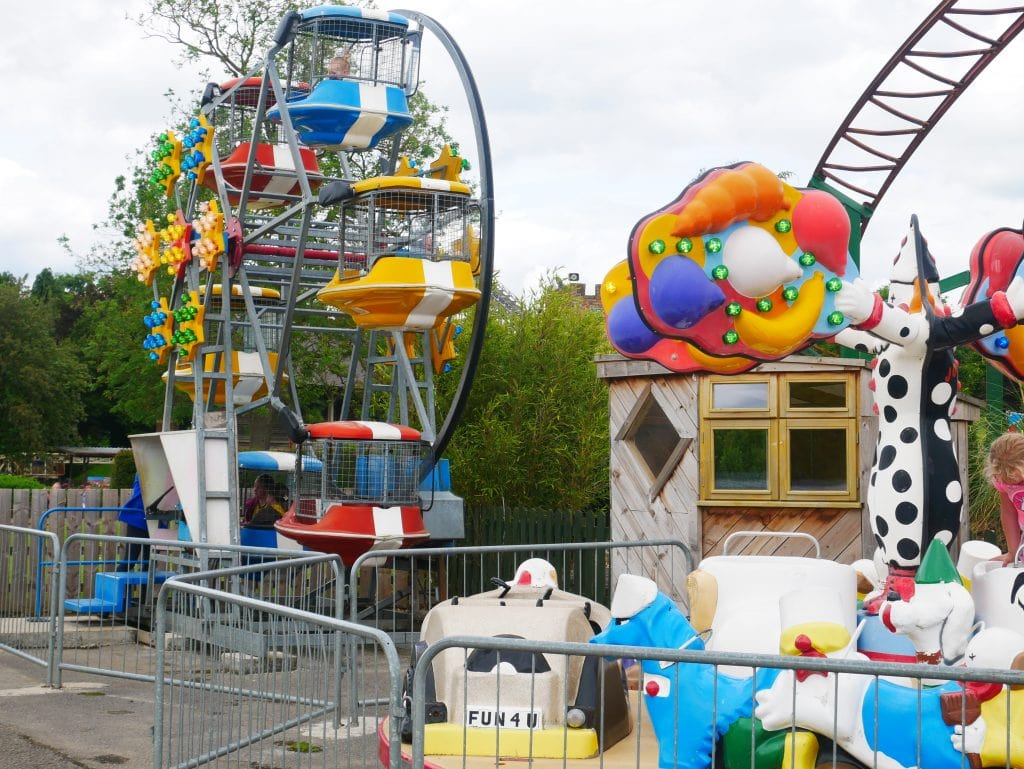 Rides for toddlers/younger children