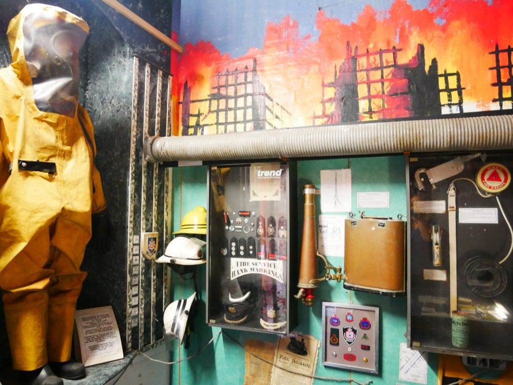 Fire exhibits