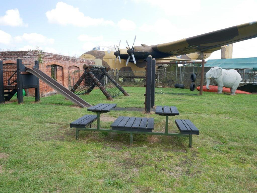 Playground at Fort Paull