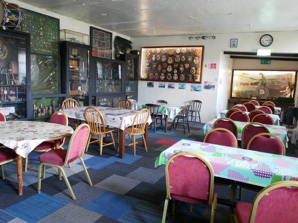 Inside the bar / cafe