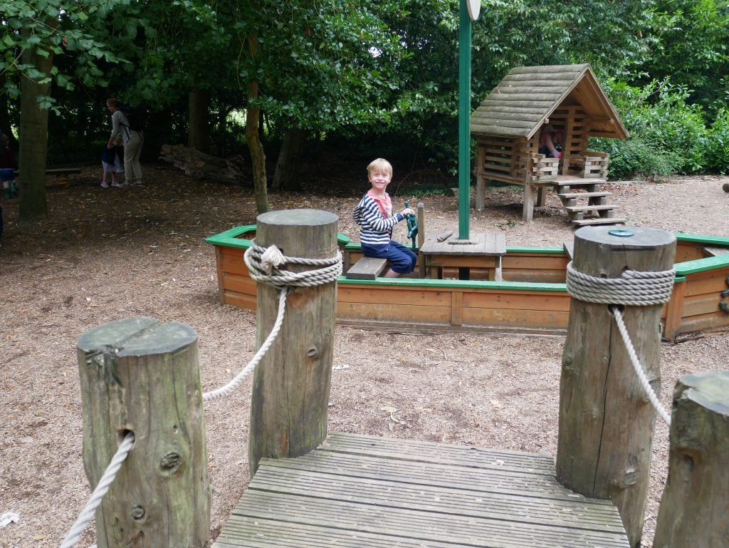 Beningbrough Hall playground