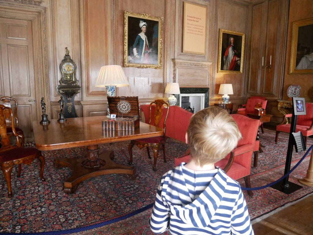 One of the many grand rooms in Beningbrough Hall