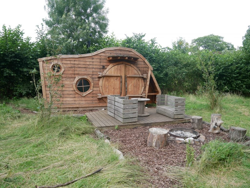 Our Hobbit house at Baxby Manor