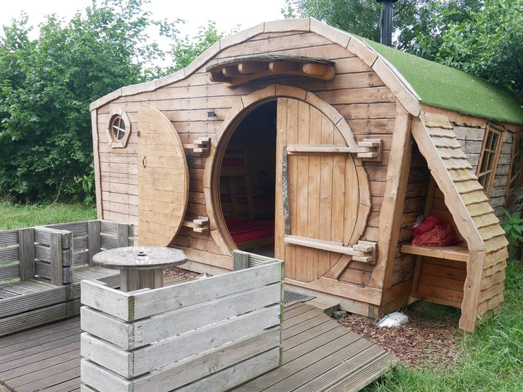 Hobbit House Glamping Pods Review | The Hideaway at Baxby Manor