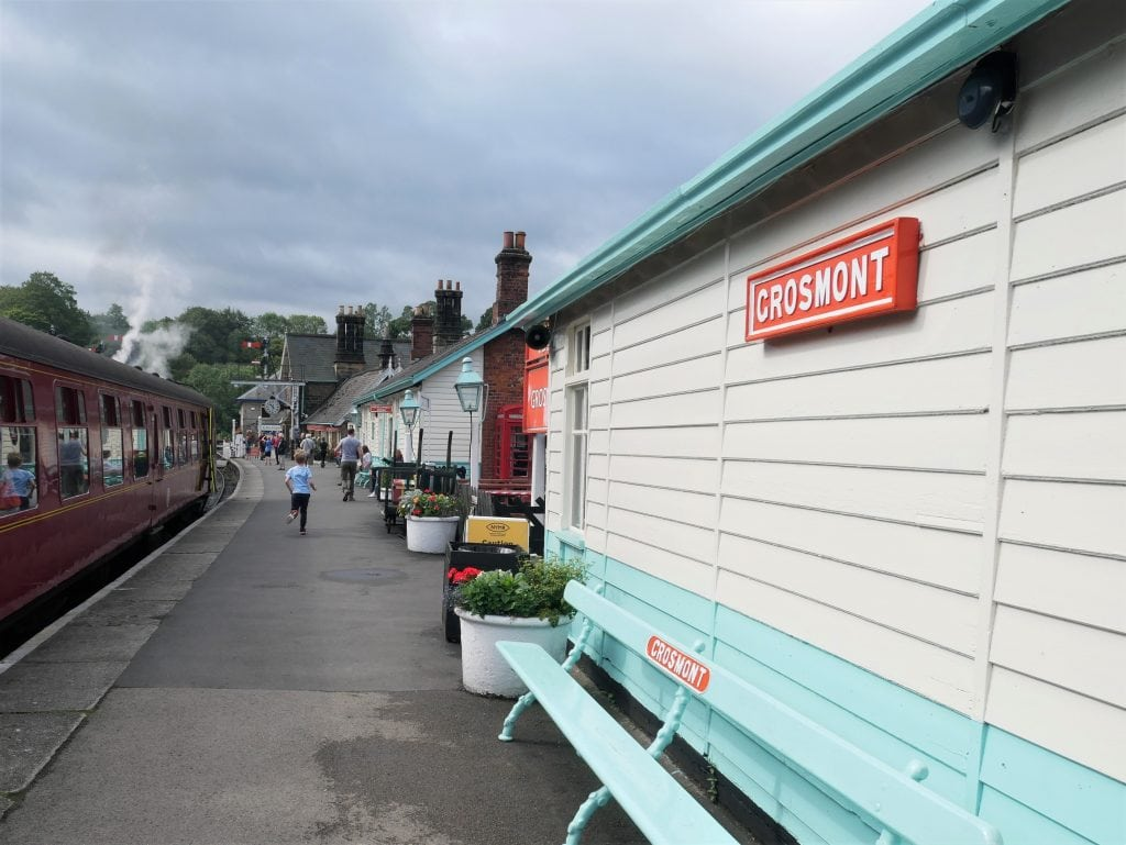 Grosmont Station platform