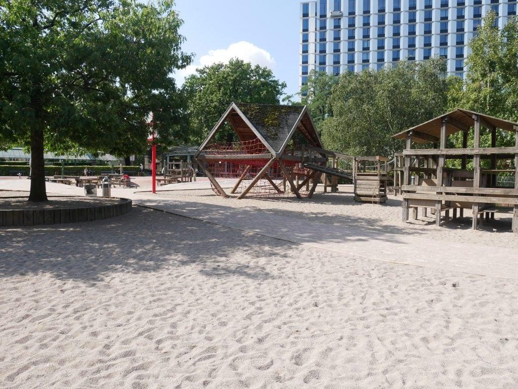 The main playground at Planten un Blomen