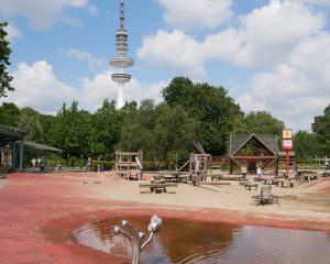 Playground at Planten un Blomen