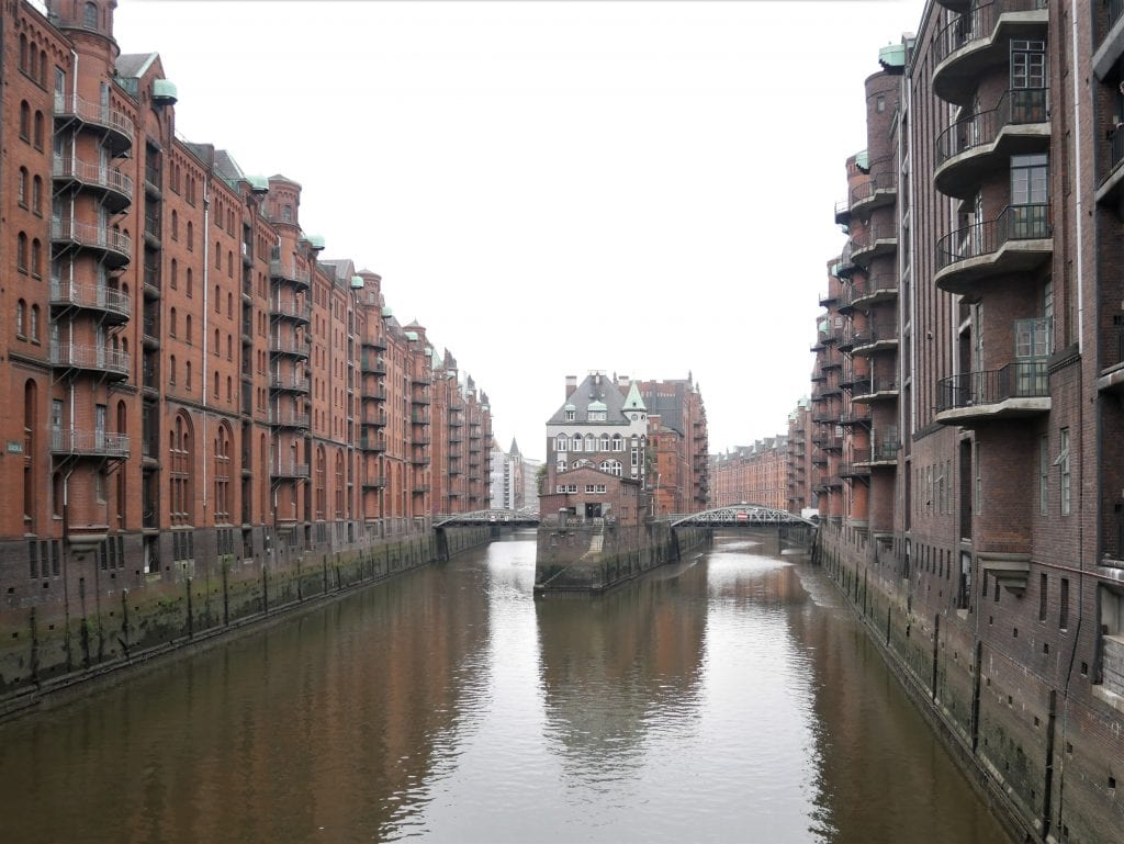 Poggenmühlen-Brücke bridge, Hamburg